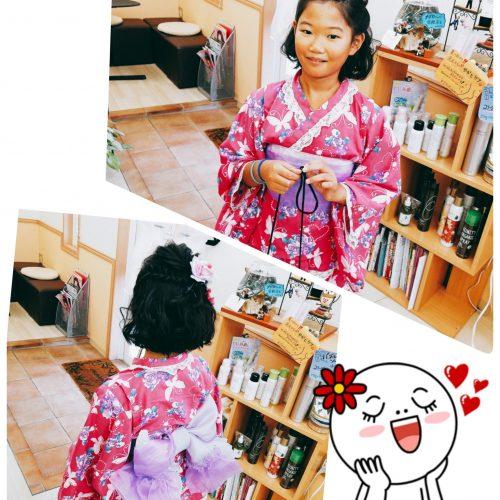 つな髪〜のお祭りバージョン