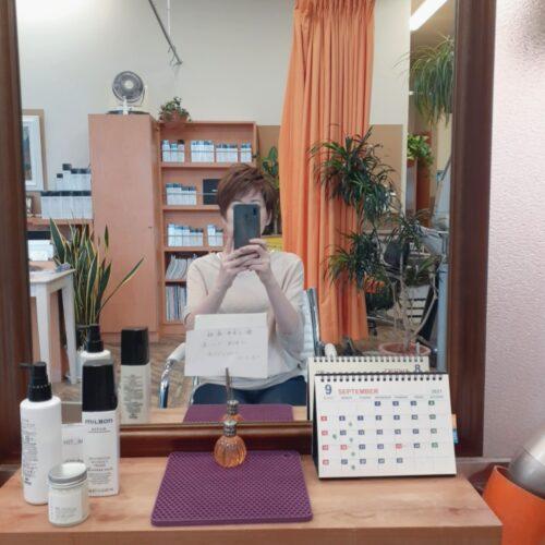 美容室あるある・・・自分の髪は後回しになる